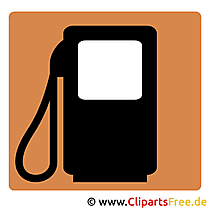 Tankstelle Clipart kostenlos