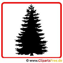 モミの木のクリップアート