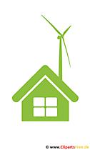 クリップアート風力エネルギー