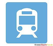 Tren piktogramı