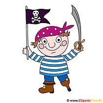 カーニバルクリップアート海賊