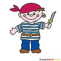 海賊のクリップアート