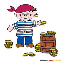 Piratengeburtstag Bild