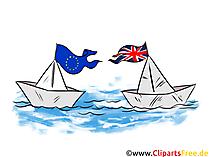 ペーパーボートBrexit英国EUクリップアート無料、無料画像