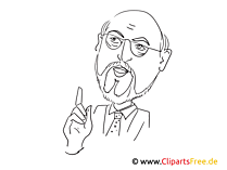 Martin Schulz漫画、デッサン、漫画