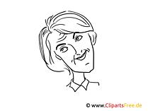 ウルスラ・フォン・デア・ライエン画、漫画、風刺画
