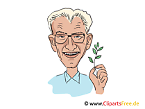 Winfried Kretschmann Karikatur, Bild, Illustration, Comic