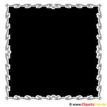 Tafel clipart schwarz weiß  Rahmen Bilder, Cliparts, Cartoons, Grafiken, Illustrationen, Gifs ...