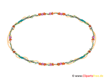 Bilderrahmen oval