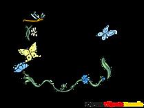 꽃 덩굴손 프레임, 이미지, 그래픽, 이미지 다운로드