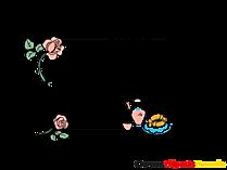 Download Bild-Rahmen mit Blumen und Fruehstueck