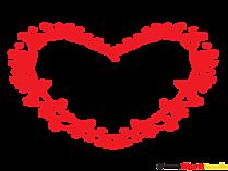 Fotorahmen Herz gratis für Verliebte Menschen