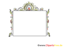꽃 덩굴 프레임 테두리 이미지
