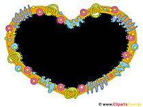 Rahmen Herz Clipart