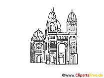 Architekturdenkmal Bild, Zeichnung, Clipart gratis