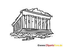 Athene afbeelding, clipart, illustratie, gratis grafische kunst