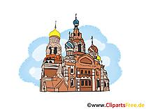 St. Basil's Cathedral afbeelding, clipart, illustratie, gratis grafische kunst