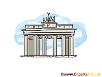 Berlin Bild, Clipart, Illustration, Grafikm gratis