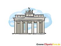Berlin Bild, Clipart, Illustration, Grafikm gratis