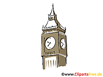Big Ben London Clip Art, Bild, Cartoon