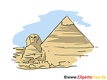 Afbeeldingen reizen Cheops-piramide