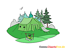 Kamp Clipart