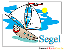 Cartoon Schiff Clipart free