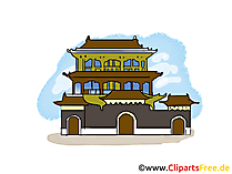 China Clipart, Bild, Illustration, Grafik gratis