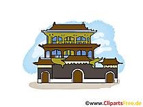 China Clipart, Bild, Illustration, Grafik gratis