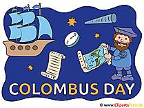 Columbus Day illustraties