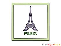 Eiffeltoren Clipart