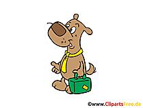 フリークリップアート犬