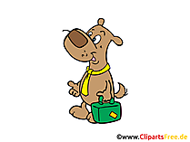 Gratis clip-art hond