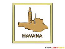 ハバナのクリップアート
