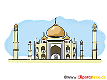 India reizen afbeelding, clipart, illustratie, grafisch gratis