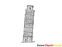 Italien Reisen Cliparts, Bilder