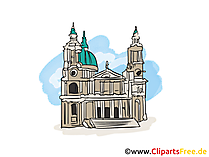 Kathedrale Bild, Clipart, Illustration, Grafik gratis