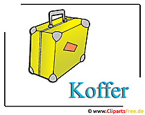 Koffer Clipart free
