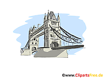 London Clipart, Bild, Cartoon