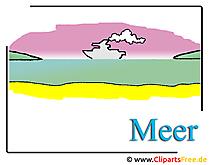 海のクリップアート無料