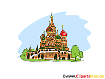 Moskau Clipart, Bild, Cartoon
