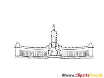 Palast Bild, Zeichnung, Clipart gratis