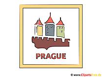 Prag Illustration