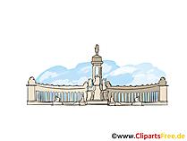 Sint-Petersburg afbeelding, clipart, illustratie, gratis grafische kunst