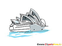 Sidney Clipart, Bild, Cartoon