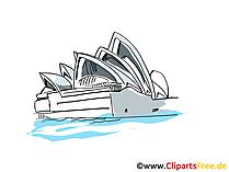 Sidney Clipart, Bild, Cartoon