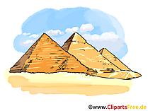 Vallei van de koningen afbeelding, clipart, illustratie, gratis grafisch