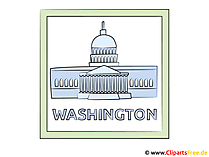 Washington DC Clipart