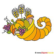 Kleurrijke foto's voor Thanksgiving Day