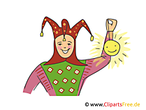 Eulenspiegel Illustration, Clipart, Bild